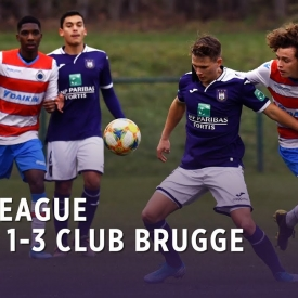 Embedded thumbnail for U21 League | RSCA 1-3 Club Brugge