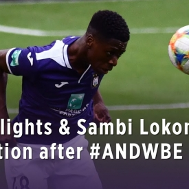 Embedded thumbnail for Highlights & Sambi Lokonga's reaction after #ANDWBE