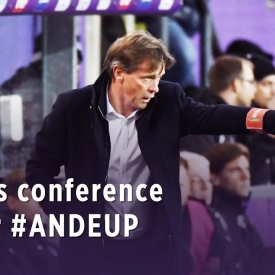 Embedded thumbnail for Press conference after #ANDEUP