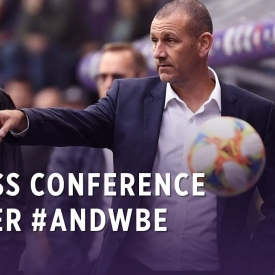 Embedded thumbnail for Persconferentie na #ANDWBE