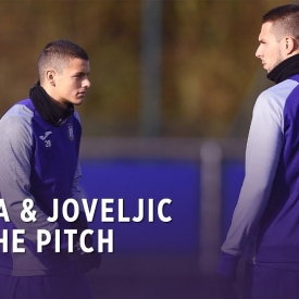 Embedded thumbnail for Meet Dejan Joveljic & Marko Pjaca on the pitch