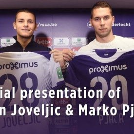 Embedded thumbnail for Présentation officielle de Joveljic & Pjaca