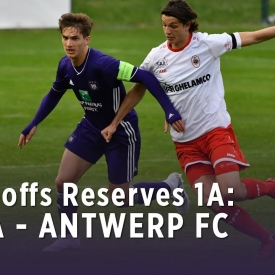 Embedded thumbnail for Play-offs Reserves 1A: RSCA 3-1 Antwerp FC