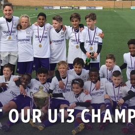 Embedded thumbnail for Faisons connaissance avec nos champions U13!
