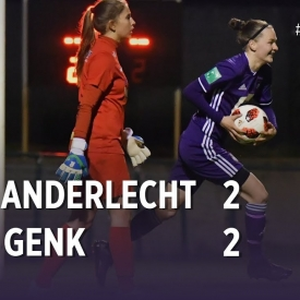 Embedded thumbnail for Superleague Play-offs : RSCA 2-2 KRC Genk