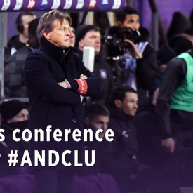 Embedded thumbnail for Conférence de presse après #ANDCLU