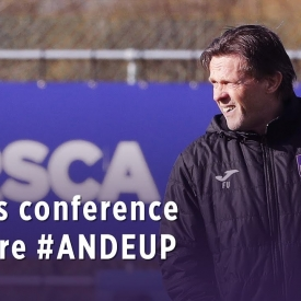 Embedded thumbnail for Press conference before #ANDEUP