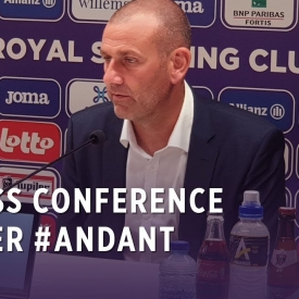 Embedded thumbnail for Persconferentie na #ANDANT