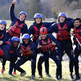 Embedded thumbnail for Team building avec du VTT et du rafting!