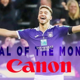 Embedded thumbnail for Votre Canon Goal of the Month Février: Antoine Colassin