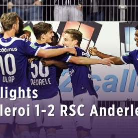 Embedded thumbnail for Charleroi 1-2 RSCA 04/10/2019