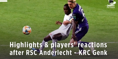 Embedded thumbnail for Highlights & players' reactions after RSCA - KRC Genk