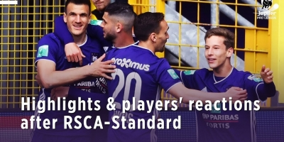 Embedded thumbnail for Highlights & players' reactions after RSCA-Standard