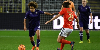 Embedded thumbnail for UWCL: RSCA Women 1-2 SL Benfica