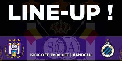 Embedded thumbnail for RSCA - Club Brugge: the starting line-up!