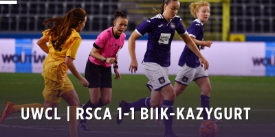 Embedded thumbnail for UWCL: RSCA Women 1-1 BIIK-Kazygurt