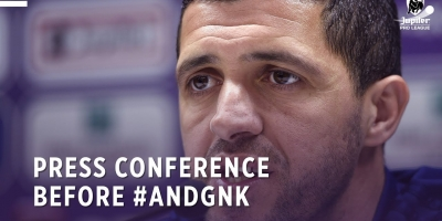 Embedded thumbnail for Press conference before #ANDGNK