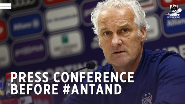 Embedded thumbnail for Persconferentie voor #ANTAND