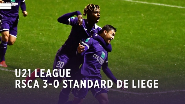 Embedded thumbnail for U21 League | RSCA 3-0 Standard de Liège