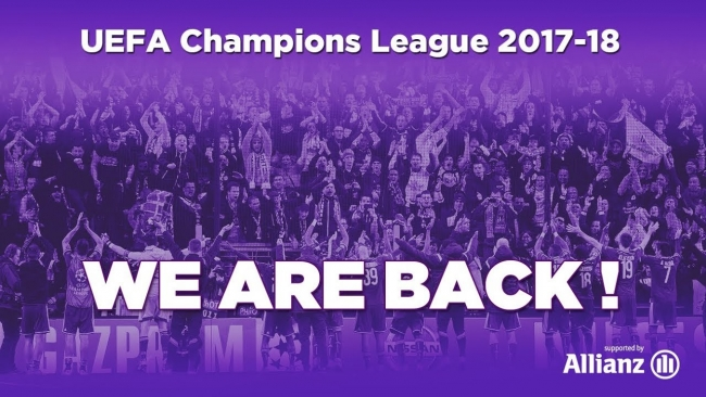 Embedded thumbnail for We are back in the Champions League!