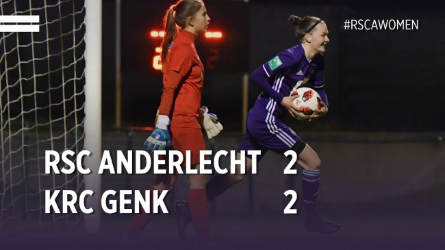 Embedded thumbnail for Superleague Playoffs: RSCA 2-2 KRC Genk