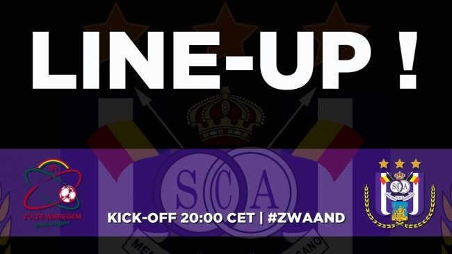 Embedded thumbnail for SVZW - RSCA: starting line-up!