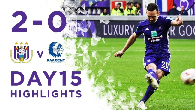Embedded thumbnail for RSCA 2-0 KAA Gent - Highlights