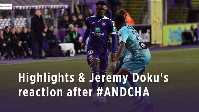 Embedded thumbnail for Highlights & Jeremy Doku's reaction after #ANDCHA