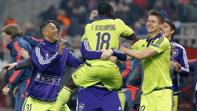 Embedded thumbnail for Highlights Olympiacos FC 1-2 RSC Anderlecht (25/02/2016)