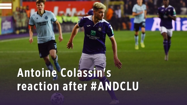 Embedded thumbnail for Antoine Colassin's reaction after #ANDCLU