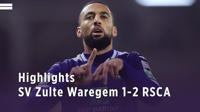 Embedded thumbnail for Zulte Waregem 1-2 RSCA 08/11/2019