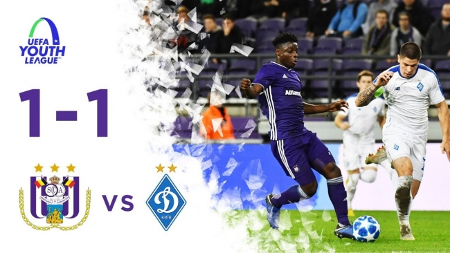 Embedded thumbnail for Youth League: RSCA 1-1 Dynamo Kyiv