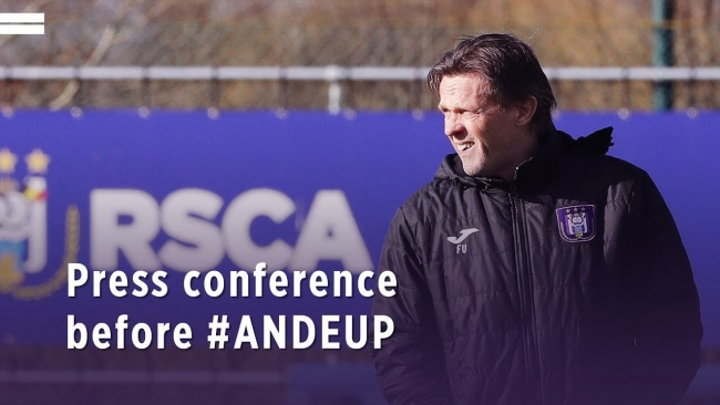 Embedded thumbnail for Frank Vercauteren before #ANDEUP