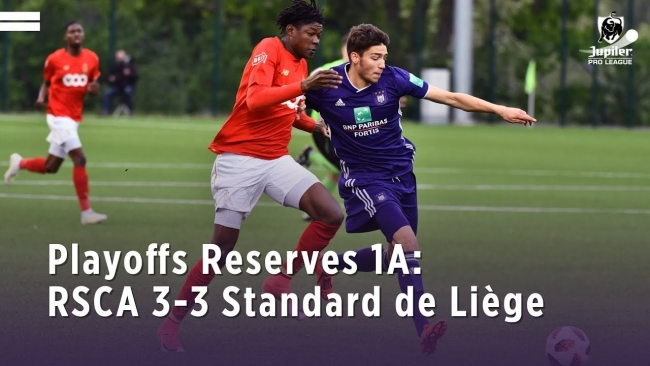 Embedded thumbnail for Playoffs Reserves 1A: RSCA 3-3 Standard