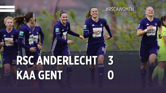 Embedded thumbnail for Superleague Playoffs: RSCA 3-0 KAA Gent