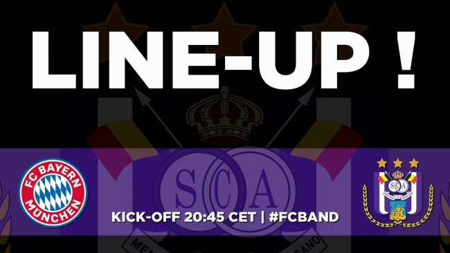 Embedded thumbnail for FC Bayern - RSCA : starting line-up !
