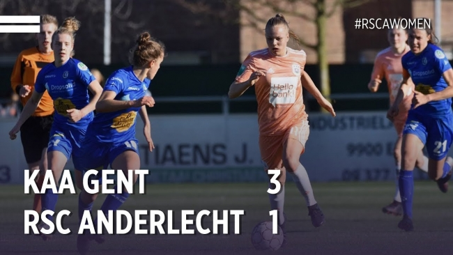 Embedded thumbnail for Women's Cup: KAA Gent 3-1 RSCA