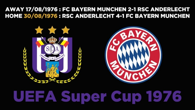 Embedded thumbnail for Classic : UEFA Super Cup 1976 | RSCA 4-1 FC Bayern München