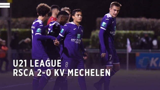 Embedded thumbnail for U21 League | RSCA 2-0 KV Mechelen