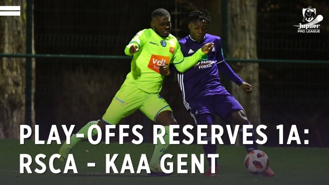 Embedded thumbnail for Play-offs Reserves 1A: RSCA 1-4 KAA Gent