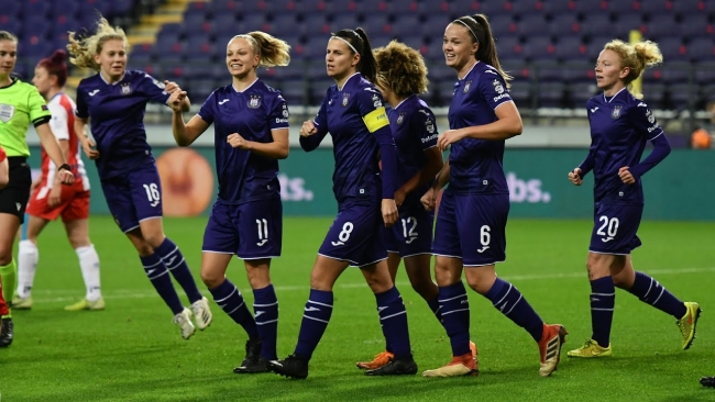 Embedded thumbnail for UWCL: RSCA Women 8-0 Linfield Ladies