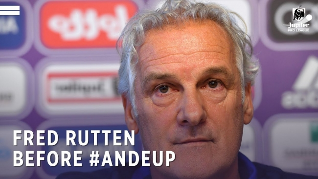 Embedded thumbnail for Fred Rutten avant #ANDEUP