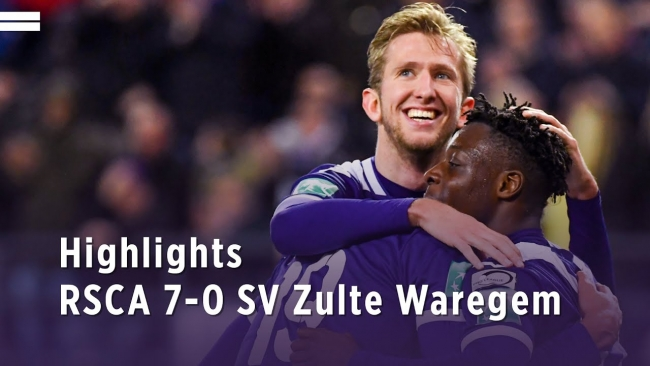 Embedded thumbnail for RSCA 7-0 Zulte Waregem (07/03/2020)