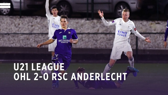 Embedded thumbnail for U21 League | OHL 2-0 RSCA