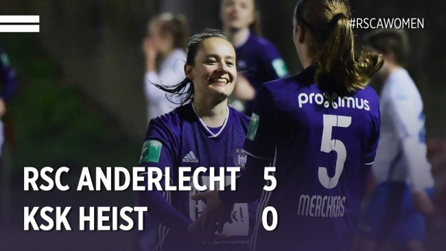 Embedded thumbnail for Superleague: RSCA 5-0 KSK Heist