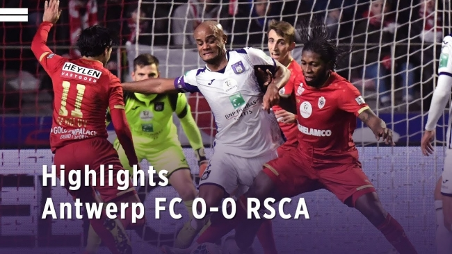 Embedded thumbnail for Antwerp FC 0-0 RSCA (27/12/2019)
