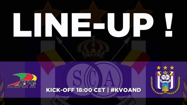 Embedded thumbnail for KVO - RSCA: starting line-up!