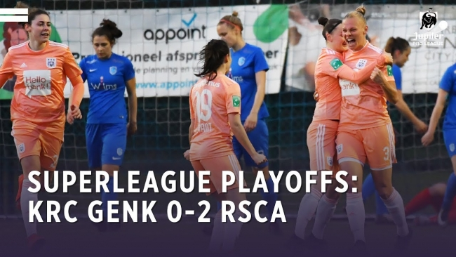 Embedded thumbnail for Superleague Playoffs: KRC Genk 0-2 RSCA