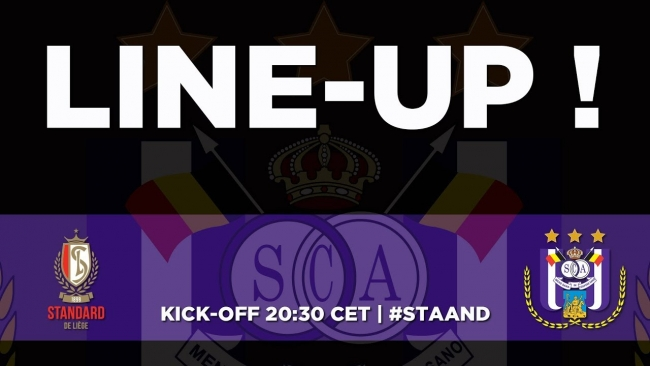 Embedded thumbnail for Standard - RSCA: starting line-up!